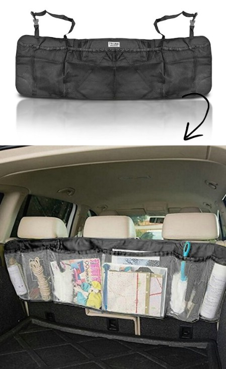 Back Seat Trunk Organizer