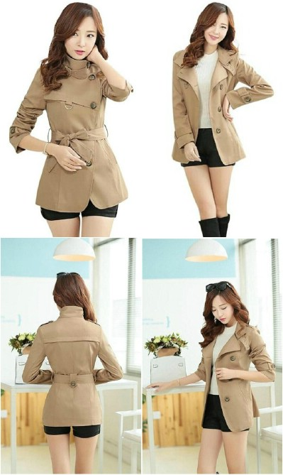 YJ Women's Fashion Lapel Casual Or Office Blazer Jacket