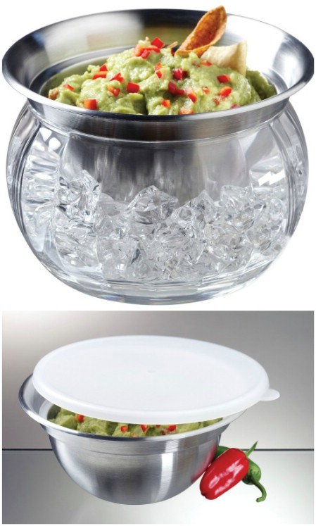 Dip-On-Ice Cooler Serving Bowl