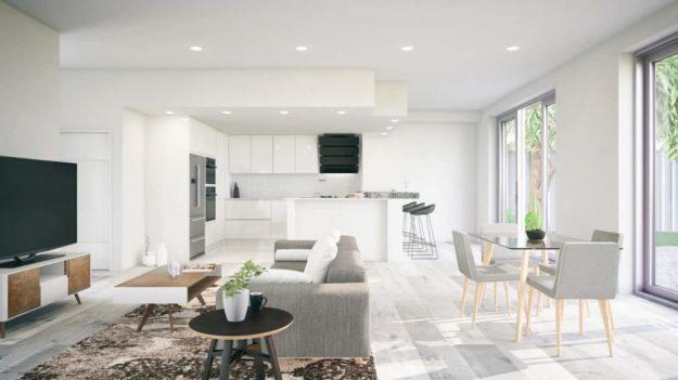 contemporary living room home decor