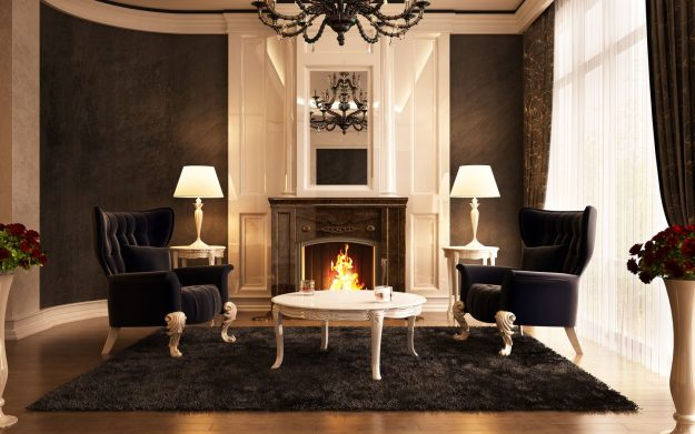 french style living room example