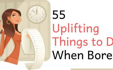 55 Uplifting Things to Do When Bored Fb