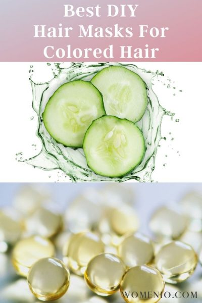 Vitamin-E and cucumber for Colored Hair