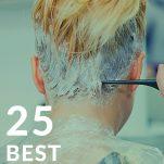 Blonde At home hair dye