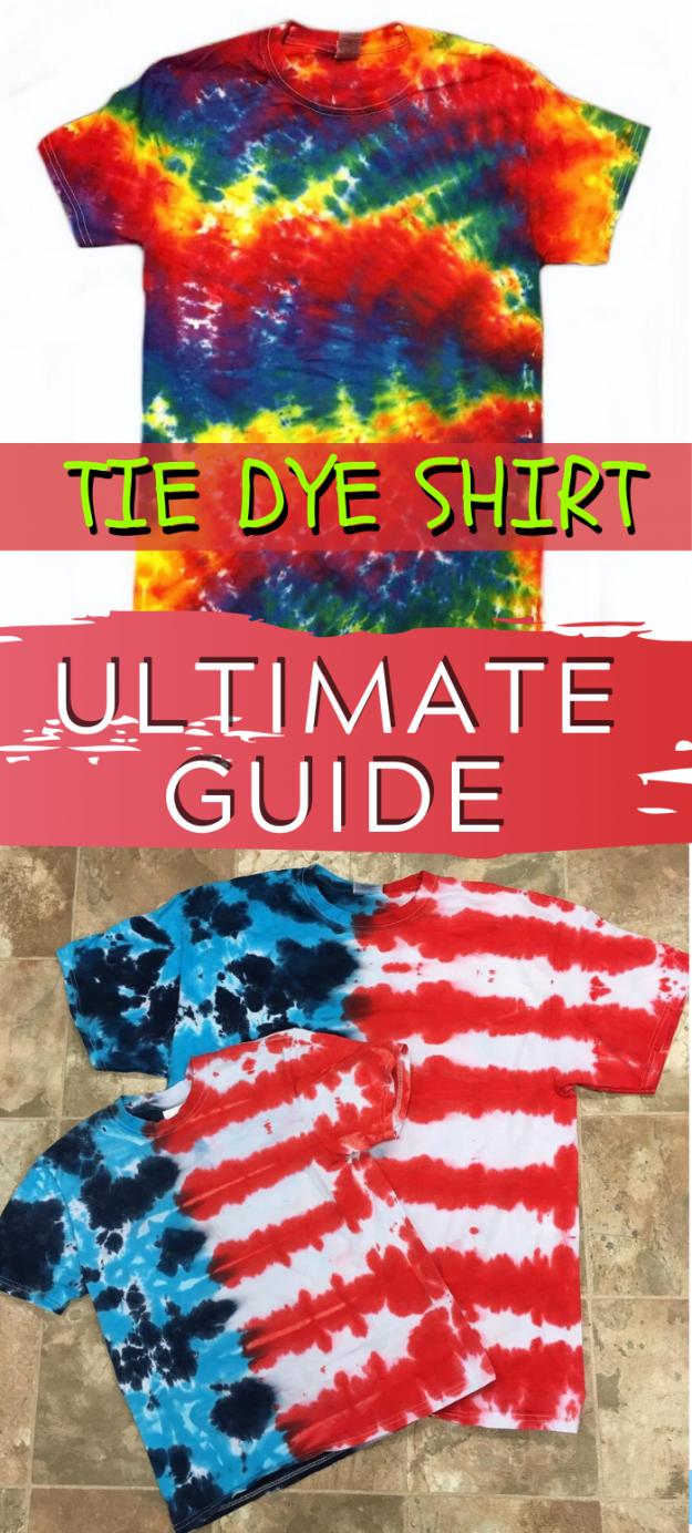 DIY tie dye shirt ultimate guide