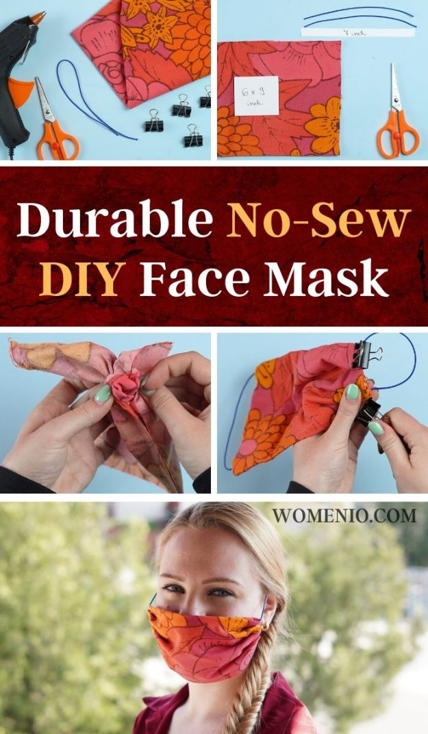 Durable No-Sew DIY Face Mask (1)