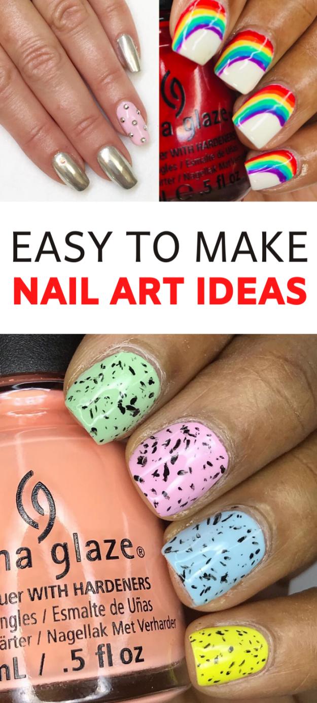 simple but gorgeous nail art ideas