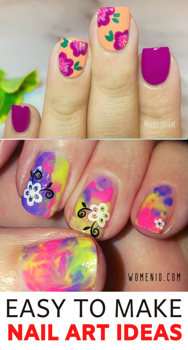 easy to make nail art ideas