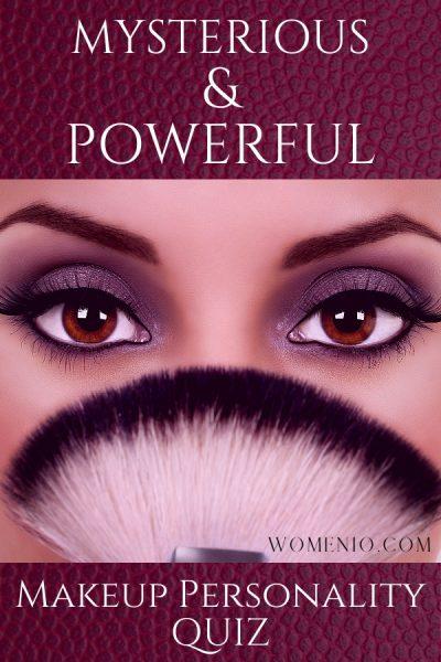 Smokey Eye makeup personality quiz