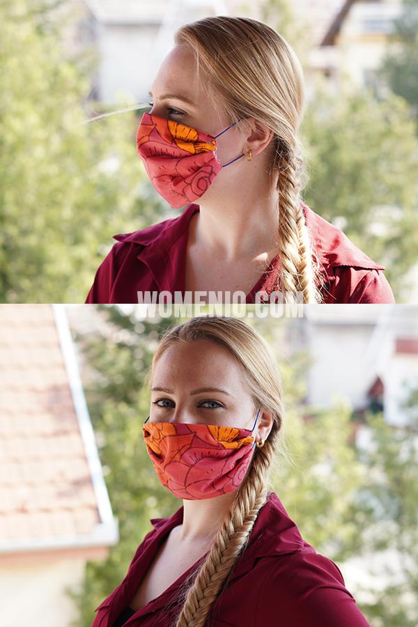 No Sew Homemade Face Mask