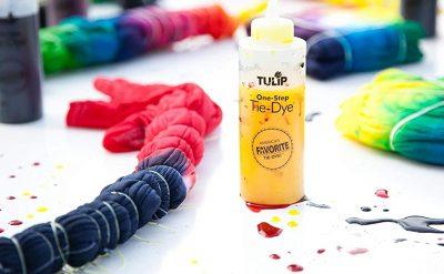 tie dye coloring set
