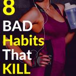Bad Habits Against Metabolism