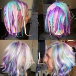 HOLOGRAPHIC HAIR DYE