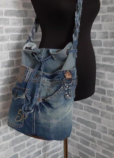 purse from jeans DIY