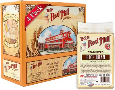 Bobs Red Mill stabilized rice bran
