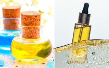 DIY massage oils