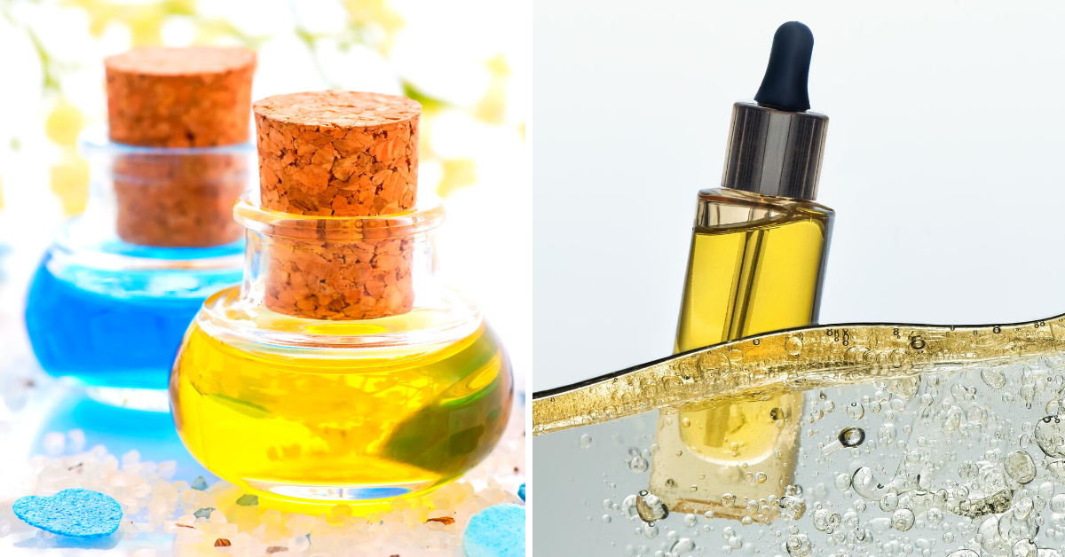 DIY massage oils
