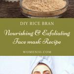 DIY rice bran face mask 9