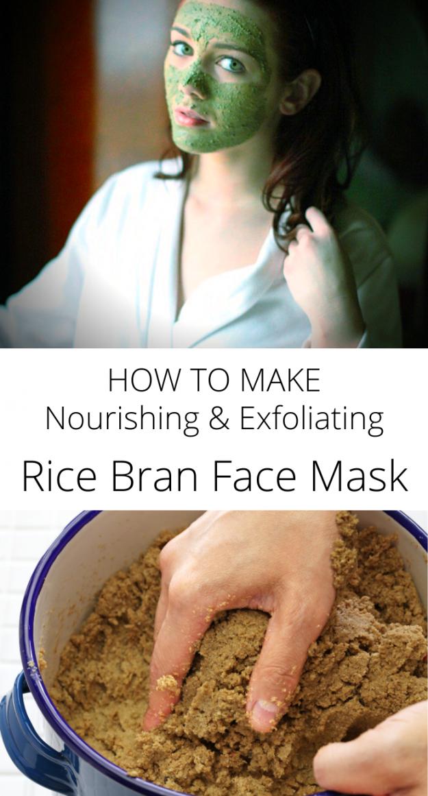 Rice bran face mask japanese beauty secret