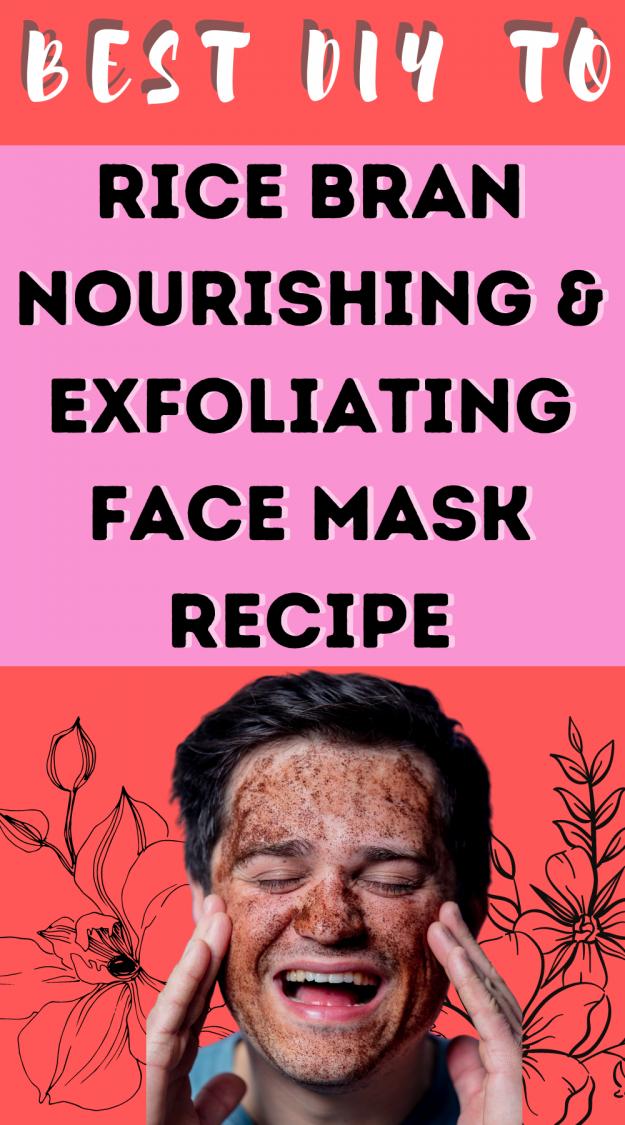 rice bran facial