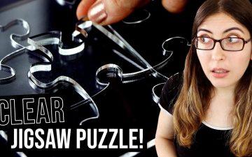 transparent jigsaw puzzle