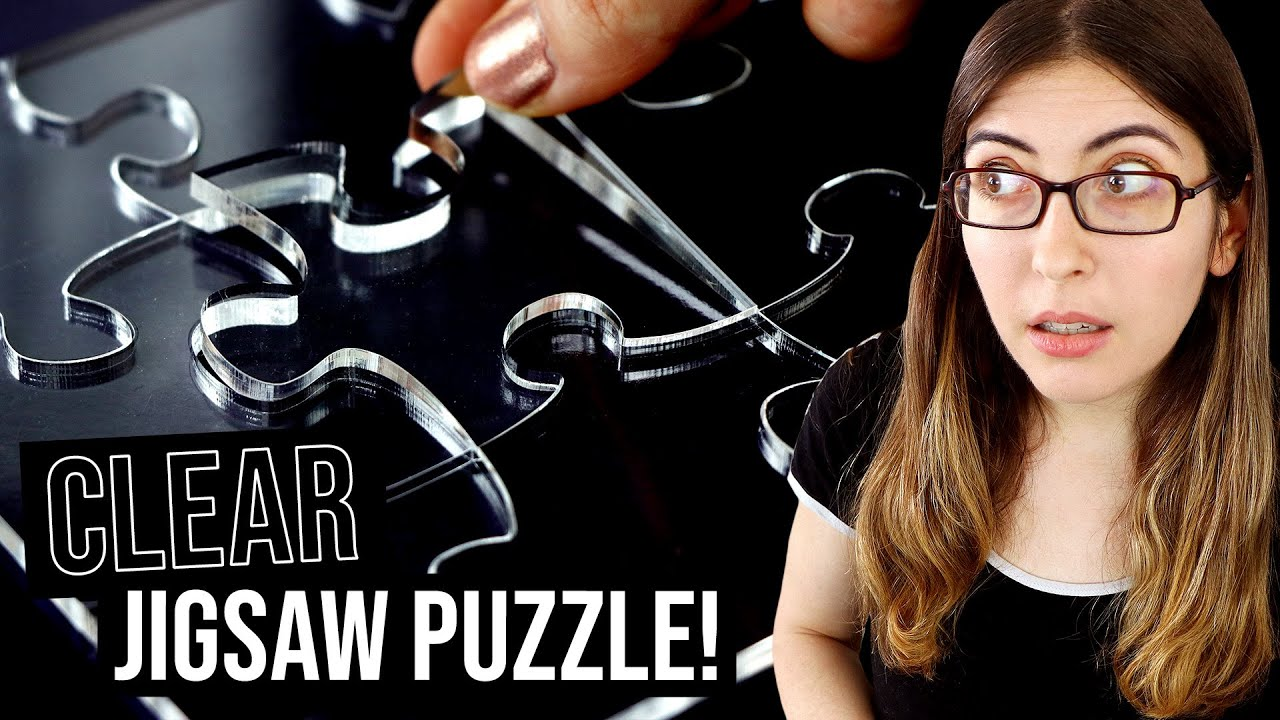 transparent jigsaw puzzle