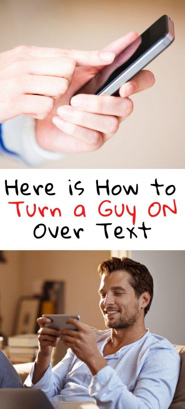 Guy sexting