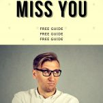 ways to make him miss you more