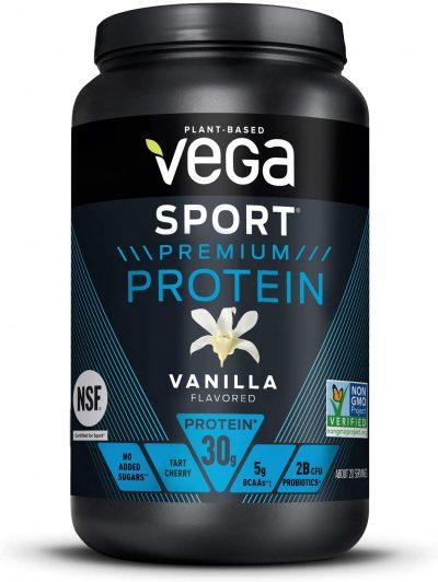 plant based protein powder Vega Sport Premium