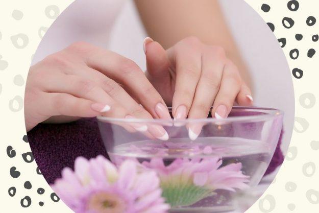 Homemade nail strengthening remedy