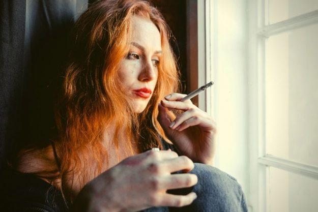 Cutting back on smoking
